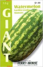 Ferry-Morse Seed Company 2142 Watermelon Garden Leader M Seeds