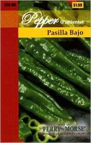 Ferry-Morse Seed Company 2150 Pepper Pasilla Bajo Seeds