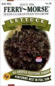 Ferry-Morse Seed Company 2159 Lettuce Red Sails Seeds