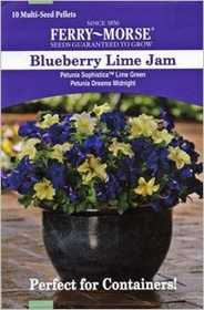 Ferry-Morse Seed Company 2178 Petunia Blueberry Lime Seeds