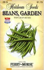 Ferry-Morse Seed Company 3749 Beans Top Crop Seeds
