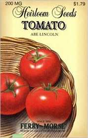 Ferry-Morse Seed Company 3752 Tomato Abe Lincoln Seeds