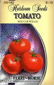 Ferry-Morse Seed Company 3759 Tomato Box Car Will Seeds