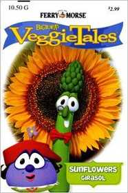 Ferry-Morse Seed Company 472 Veggie Tales Sunflower-Mammoth Seeds
