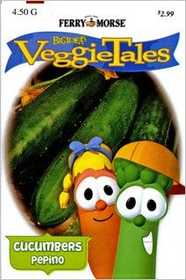 Ferry-Morse Seed Company 477 Veggie Tales Cucumber Marketmore 76 Seeds