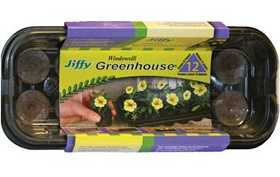 Jiffy 5710 Windowsill Greenhouse 12 Cell