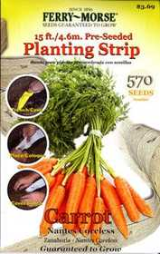 Ferry-Morse Seed Company 0822 Seed Tape Carrot Seeds