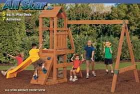 Playstar PS7711 KIT All Star Xp Bronze Treated Lumber