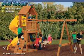 Playstar PS7711 KIT All Star Xp Gold Redwood Lumber