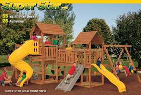 Playstar PS7725 KIT Super Star Xp Gold Treated Lumber