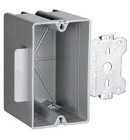 Legrand/Pass & Seymour S118S50 Wood & Steel Stud Bracket Box With Quick/Click