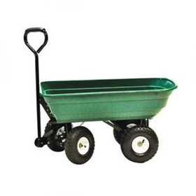 Precision Products LC2000 Garden Dump Cart Poly 600lb Cap