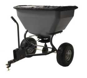 Precision Products TBS7000RD 7 Series 200 Lb Tow Behind Broadcast Spreader With Rain Cover