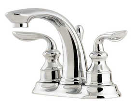 Pfister F048CB0C Lavatory Faucet 2-Handle 4-In Centerset Avalon Chrome