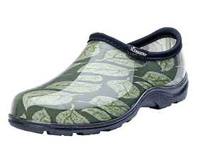 SLOGGERS 5115LSG06 Women's Waterproof Comfort Shoes In Leaf Print 6