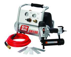 Grip-Rite GRTBK200 Gr100 2 in Brad Nailer Combo Kit
