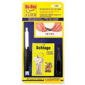 Prime line products e 2402 schlage steel 5 pin re keying for Sutherlands deck kits