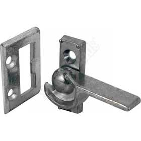 Prime Line Products F 2510 Zinc Left-Handed Sliding And Vertically-Hung Window Latch