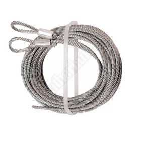 Prime Line Products GD 52101 Garage Door Extension Spring Cable 3/32 in Set