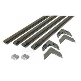 Prime Line Products PL 7807 Window Screen Kit 5/16x3/4 Bronze 48x48