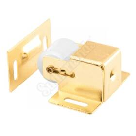 Prime Line Products U 9047 Catch Roller Cabinet Brass
