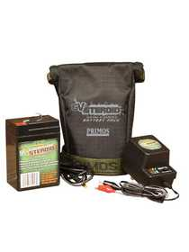 Primos Hunting 64011 6v Steroid™ Battery & Charger Combo