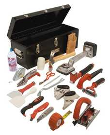 Roberts 10 750 deluxe carpet installation tool kit at for Sutherlands deck kits