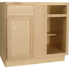 Continental Cabinets BBC45OHD Blind Base Corner Cabinet
