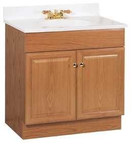 Continental Cabinets C14030A Richmond 30 in Combo Vanity With Top