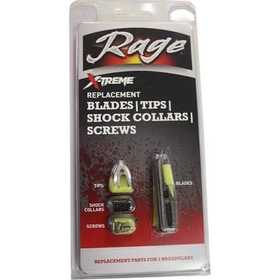 Rage Outdoors 51005 X-Treme 2-Blade Replacement Blades