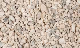 Pavestone 54252 Arkansas White Pebbles .5cu Ft