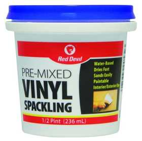 Red Devil 0532 Pre-Mixed Vinyl Spackling Compound 1/2 Pt