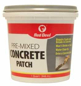 Red Devil 0644 Concrete Patch Pre-Mixed Qt