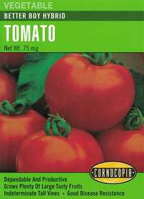 Cornucopia Garden Seeds 182 Better Boy Hybrid Tomato Seeds