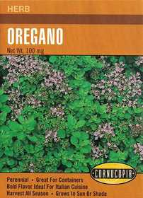 Cornucopia Garden Seeds 218 Oregano Seeds