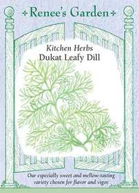 Renee's Garden Seed Co. 5480 Dukat Leafy Dill Kitchen Herb Seeds