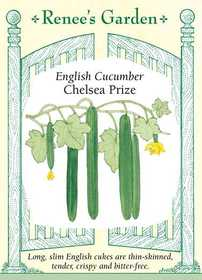 Renee's Garden Seed Co. 5620 Chelsea Prize English Cucumber Seeds