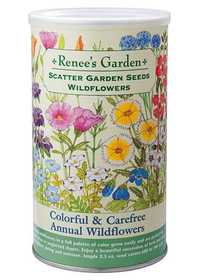 Renee's Garden Seed Co. 8186 Colorful And Carefree Annual Wildflowers Scatter Garden Seeds