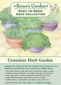 Renee's Garden Seed Co. 8198 Container Herb Garden Easy to Grow Seed Collection