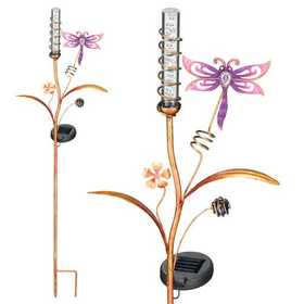 Regal Art & Gift 10372 Solar Bubble Wand - Dragonfly