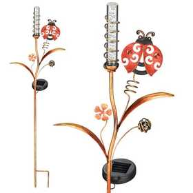 Regal Art & Gift 10375 Solar Bubble Wand - Ladybug