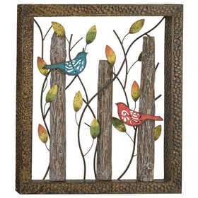 Regal Art & Gift 11276 Birds In The Woods Wall Decor Med