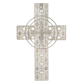 Regal Art & Gift 11073 Lace Wall Cross With Rope