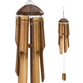 Regal Art & Gift 05517 Chime Bamboo Coconut