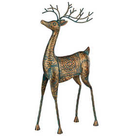Regal Art & Gift 11104 Reindeer Standing With Head Up Tabletop Decor