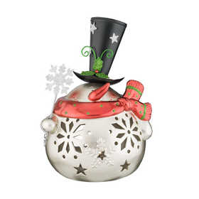 Regal Art & Gift 11117 Large Silver Snowman Decor