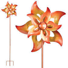 Regal Art & Gift 5232 Kinetic Stake - Open Flower