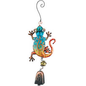 Regal Art & Gift 10685 Gecko Ornament With Bell
