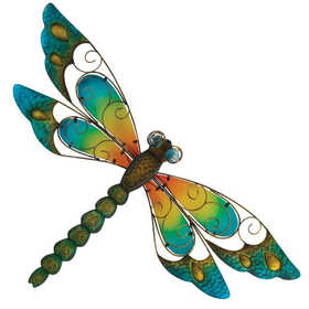 Regal Art & Gift 10829 Dragonfly Wall Decor 29 in - Blue