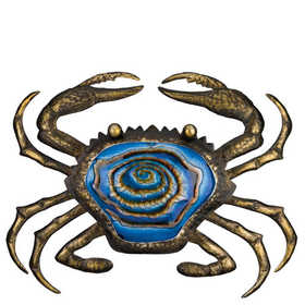Regal Art & Gift 10907 Bronze Crab Wall Decor 20 in